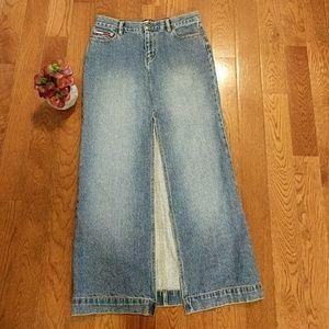 💘 Tommy Jeans vintage jean skirt
